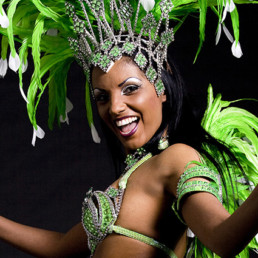 Spettacolo Ballerine Brasiliane Roma Sound Service