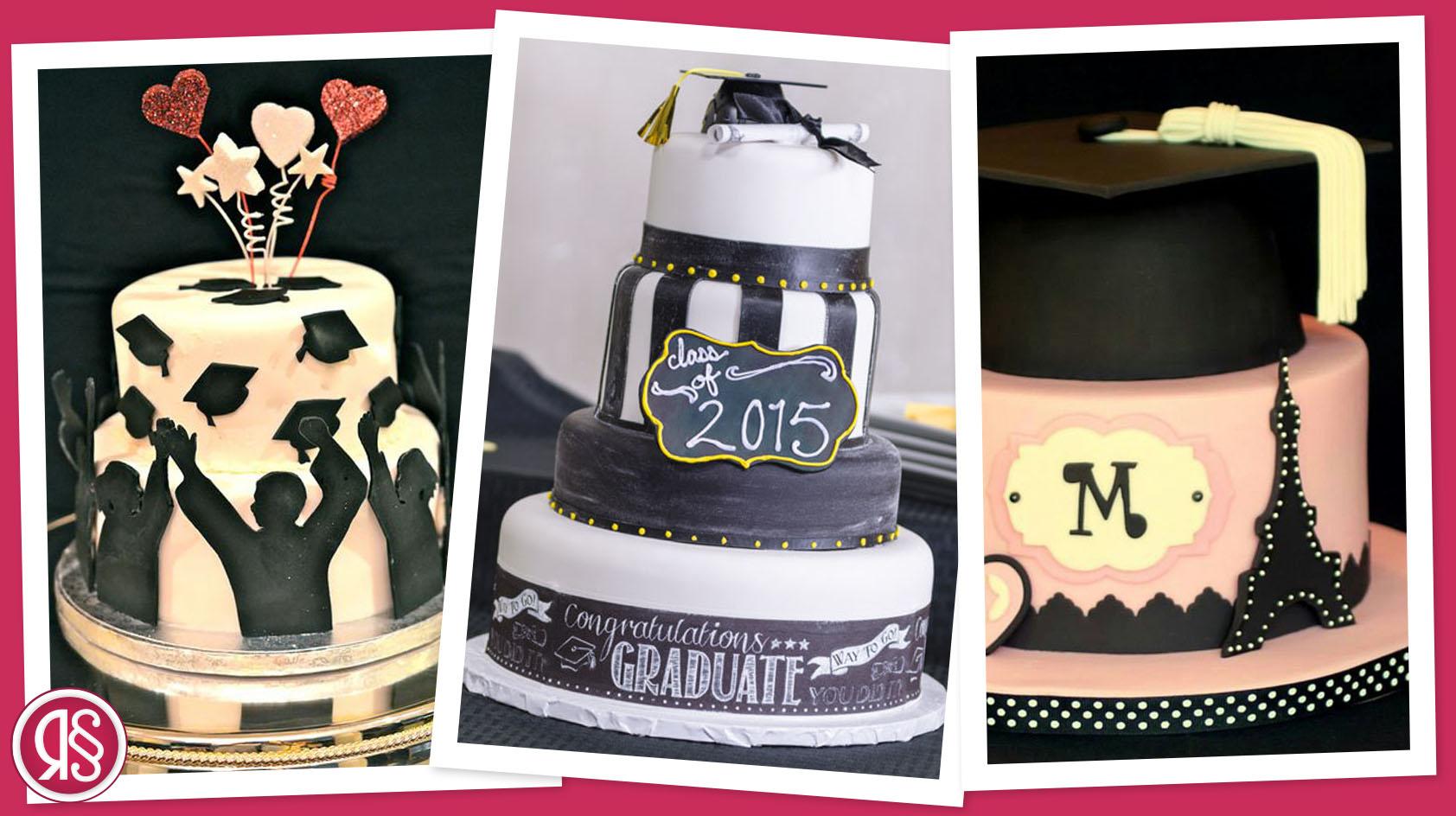 La torta per la festa di laurea